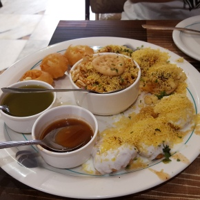 Pani Puri at Shree Ganesh Bhuvan